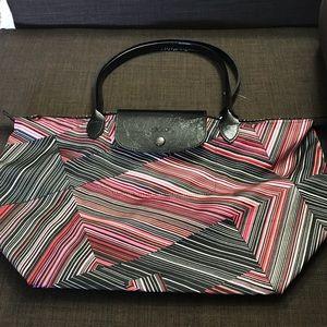 90744dfb13 Longchamp Le Pilage Large Tote Bag Black | Poshmark